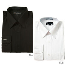 Men's Milano Moda Classic Stylish Solid Color Dress Shirt  Sty-002