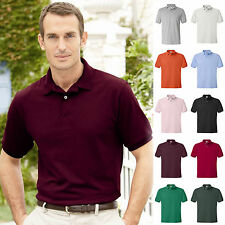 Hanes - Blended Jersey Sport Polo Shirt - *13 COLORS S-3XL* 054X Golf