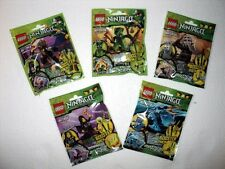 New LEGO Ninjago Booster Pack Jay ZX Kendo Cole Lizaru 9556 9557 9551 9552 9553