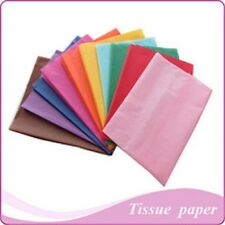 MULTI-LISTING ~ PREMIUM QUALITY TISSUE PAPER in 26 COLOURS 500 x 750mm 175 D