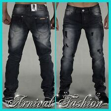 NEW RIPPED BLACK JEANS FOR MEN MENS DENIM PANTS MEN'S CLOTHES FASHION CLOTHING