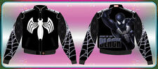 adult sizes JH design back in black spiderman jacket - free shipping