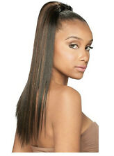 """EQUAL YAKY STRAIGHT 18"""" BY MODEL MODEL EQUAL SYNTHETIC DRAWSTRING PONYTAIL"""