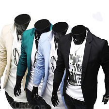 Sexy Men's Casual Top Design Slim Fit Blazers Coats Suits Jackets IN XS S M L