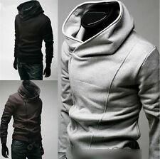 HOT Men Male Top Designed Slim Fit Sexy Hoody Jacket Coat Outwear Boy 4 Size NEW