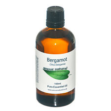 Bergamot Essential Oil 100% Pure & Natural. Choose 10ml 50ml 100ml Aromatherapy