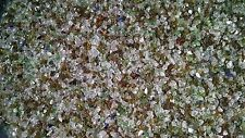 "Glass Aquarium Fish Tank Gravel, 100% Recycled Glass and ""Sharp Free!"" 4 Lb"