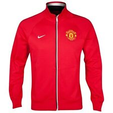 Nike MANCHESTER UNITED TR JACKET 2012-2013 SOCCER Brand New Red