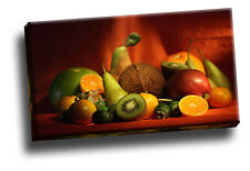 Big Collection Of Fruit Giclee Canvas Kitchen / Dining Room Wall Art Picture