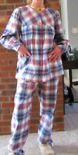 """Pajamas Flannel Plaid Cotton S -3XL """"Made in USA"""" PERFECT FOR YOU!!!"""