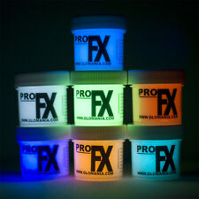 GLOW in the DARK Paint, GDP, AQUA, WHITE, GREEN,LILAC, BLUE, RED, ORANGE