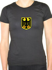 GERMAN EAGLE CREST SHIELD - Germany / International / Fun Themed Women's T-Shirt