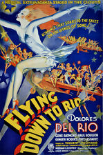 2342. Flying Down to Rio Musical Extravaganza Decor POSTER. Home Graphic Design
