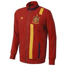 adidas Spain 2013 Soccer Presentation Jacket Red/Yellow/Royal Brand New