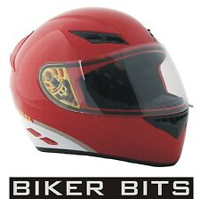 AGV K3 DIESEL Full-Jack Ducati RED Motorbike/Scooter Helmet sizes XS-S-M-L-XL