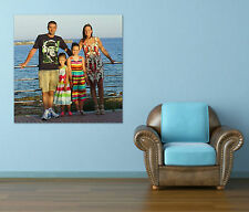 YOUR PHOTO ON CANVAS- High Quality, FREE Editing, UV Ink,Stretched ready to hang