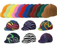 Spandex English Helmet Cover-Up...Many Fun Colors & Prints to choose! WOW!! New!