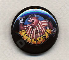 BULLSEYE Bully Badge Button Pin -  25mm and 56mm size!
