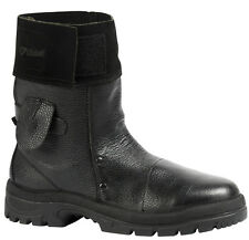 NEW GOLIATH HM2005W FOUNDRY - WELDING BOOT MID LENGTH BLACK LEATHER