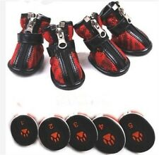 Fashion Cozy Pet Dog Boots Puppy Rain Shoes For Small and Big Dog SIZE #1-#8