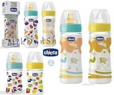 CHICCO BABY WELL BEING FEEDING PLASTIC BOTTLE 0m+ 2m+ 4m+