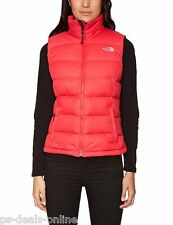Brand New The North Face Women's Nuptse 2 700 Down Vest Gillet Teaberry Pink