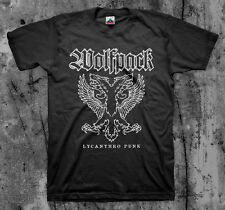 WOLFPACK 'Lycanthro Punk' T shirt (Discharge Disfear Skit System Victims)