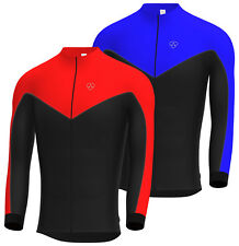 Long Sleeve Winter Cycle Cycling Jersey Top  by hera international