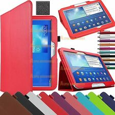 Premium Leather & Polka Dot Stand Case Cover For Various tablets With Sleep wake