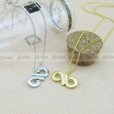New INFINITE Infinity Logo Simple Necklace Gold / Silver + Free Shippng