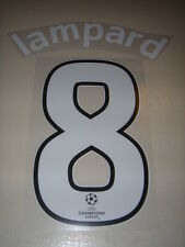 Sporting ID Chelsea Champions League Player size shirt print LAMPARD DROGBA