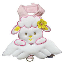 Easter Klippo Pink Lamb Sheep Angel Dog Harness & Leash Set Various Sizes