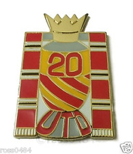 United Badge Selection 20 Times Champions of Manchester & England Winners Pin