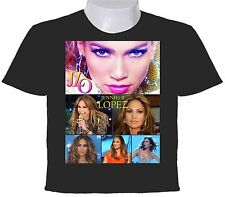 JENNIFER LOPEZ   JLO T-SHIRT - ACTRESS - AMERICAN ENTERTAINER - PICTURE COLLAGE