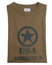 USA ALLIED STAR US Army Vintage TEE t Shirt oliv