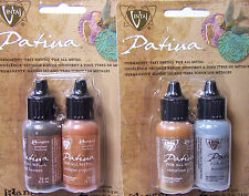 VINTAJ Patina Metallic Metal Paint for Jewelry and Crafts Permanet Fast Drying