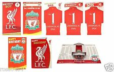 Liverpool FC Birthday Card Selection (Some With Badge, Music...) Gift