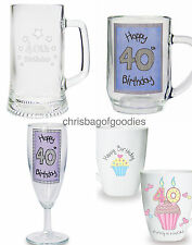 BIRTHDAY Gifts For Men WOMEN 40th Celebration PRESENTS His Her Ideas  Keepsake
