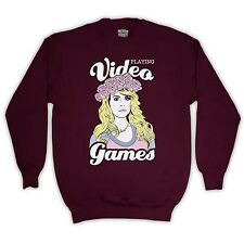 VIDEO GAMES LANA DEL RAY UNOFFICIAL SWEATER JUMPER ADULTS & KIDS SIZES COLOURS
