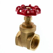 "Brass Gate Valve 1/2"" To 2"" BSP Threaded Ends Next Day Delivery Available"