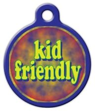 KID FRIENDLY - Custom Personalized Pet ID Tag for Dog and Cat Collars
