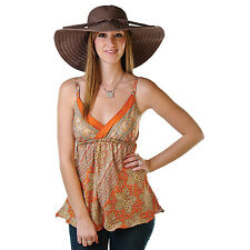 Ribbon Crusher UPF 50+ Sun Beach Floppy Hat by hat.a.girl, HS358