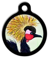 EXOTIC BIRD - Custom Personalized Pet ID Tag for Dog and Cat Collars