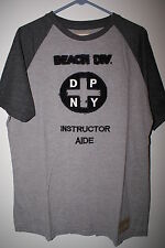Mens New DITCH PLAINS Gray Beach SURFER TShirt Beach Board Large XL Soft Shirt