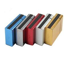 New High Quality Travel Aluminum Cigar Cigarette Case Pocket Box Holder