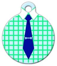 GENTLEMAN PET - Custom Personalized Pet ID Tag for Dog and Cat Collars