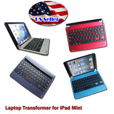 Bluetooth Wireless Keyboard dock Station Cover Case for Apple iPad Mini 1 2 3 4