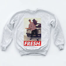 Fresh Prince Sweat Dope Indie Sk8 Obey Will Smith swagger Hipsta Hop Sweatshirt