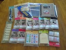 K&C Company Smash mini book, pockets,page tabs,list pads,grab bag, pen w/glue