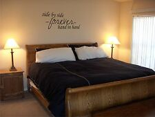 Side By Side Forever Vinyl Wall Decal